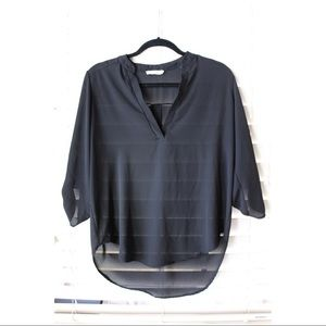 Black Lush Blouse